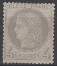 """FRANCE STAMP TIMBRE N° 52 a """" CERES 4c GRIS-JAUNATRE 1872 """" NEUF xx TB  K719"""