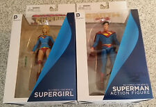 Teen Titans New 52 DC Comics SUPERGIRL & SUPERMAN Figures Collectibles Lot of 2
