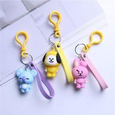 BTS BT21 Kpop Keychain Cute - Koya, Tata, Shooky, RJ, Mang, Chimmy, Cooky, Van