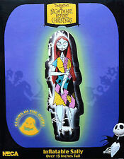 The Nightmare Before Christmas Tim Burton 15 in (ca. 38.10 cm) GONFIABILE Sally GLOW IN DARK