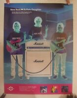 Buffalo Daughter New Rock Poster Promo 2-Sided