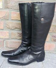 Stiefel von Esprit, Gr.38 , Echt Leder, schwarz,Top Zuatand
