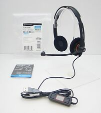 SENNHEISER SC 60 USB ML Stereo HEADSET with Microphone for PC Laptops & MS Lync