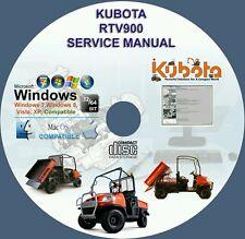 Kubota UTV RTV 900 Service Manual RTV900