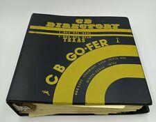 Vintage CB Radio GO- FER DIRECTORY