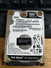 "WD Black WD5000LPLX 500GB 7.2K RPM SATA 2.5"" Laptop Hard Drive Western Digital"