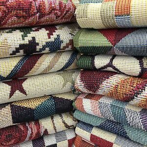 Tapestry New World Designer Fabric Ideal For Upholstery Curtains Throws Cushions