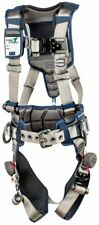 3M DBI-SALA ExoFit STRATA Positioning Harness 1112536 - Grey - Blue - Med