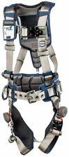 3m Dbi Sala Exofit Strata Positioning Harness 1112536 Grey Blue Med