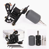 Coil Tattoo Machine Liner Selflock Grip Silicone Cover Tips Tattoo Kit Black