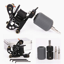 Black Tattoo Machine Liner Selflock Grip Silicone Cover Tips Tattoo Kit