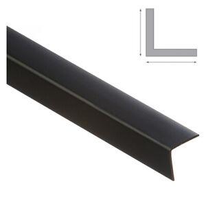 PVC Corner Angle Trim Corner 90 Degree Angle Trim**2x1 Metre**BLACK**ALL SIZES**