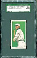 1910 T206 PIEDMONT  MCBRIDE  SGC 80 EX/NM 6  WASHINGTON SENATORS  SHIPS FREE