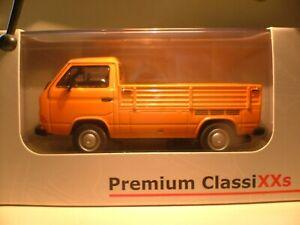 RARE EARLY PREMIUM CLASSIXXS 1/43 1985 VW T3 TRANSPORTER FLATBED OUTSTANDING NLA