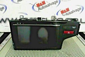 HONDA JAZZ MK4 2015-2018 SAT NAV CD RADIO DISPLAY SCREEN UNIT 39100-T5A-E01-M1