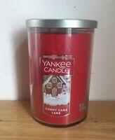 Yankee Candle Candy Cane Lane 22oz (623g) NEW Jar Candle - Holiday