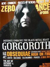 ZERO TOLERANCE 66 - GORGOROTH - ARMORED SAINT (INC CD)