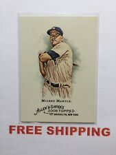 2008 Topps Allen & Ginter's Card #7 Hall of Fame New York Yankees Mickey Mantle