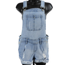Blue Spice Blue Denim Overall Junior's Size 7/8