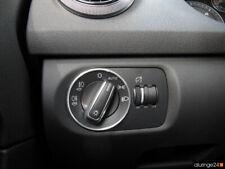 AUDI A1 8X A2 8Z A3 8P/8PA Cabrio Aluring Alu Lichtschalter QUATTRO S-LINE S1 S3