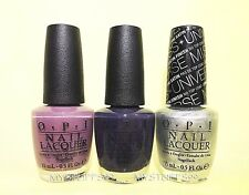 Opi Nail Lacquer *Miss Universe Collection 2013* 3 Shades Set New Free Ship!