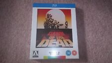 Dawn Of The Dead 3 disc Blu-ray/DVD Set Arrow Rare OOP Slipbox Poster Booklet