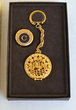 French Perfume Key Ring, Toujours Mois, Corday, Solid Perfume Holder