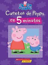 Cuentos de Peppa En 5 Minutos (Peppa Pig) (Hardback or Cased Book)