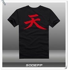 PS3 PS4 Street Fighter II V SF2 SF5 / Ken / Akuma short sleeves cotton T-shirt