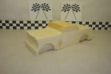 Pinewood Derby Pre-cut, #57L 1957 Sport Coupe,  What A Classic Car! New!