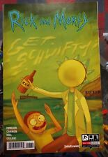RICK AND MORTY #13 JESSE JAMES COMICS EXCEED EXCLUSIVE COVER ONI PRESS NM