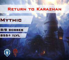 [EU] Return To Karazhan 8/8 Mythic Dungeon Boost Rückkehr nach Karazhan Warcraft