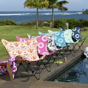 PB Teen (fits Urban Outfitters) Butterfly Chair Slipcovers NEW MSRP $69+