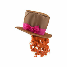 Disney Store Mad Hatter Hat & Wig Alice in Wonderland Costume Dress Up Accessory