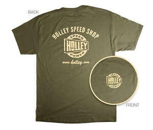 Holley 10025-XLHOL Holley Speed Shop T-Shirt