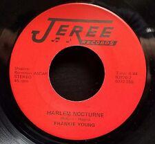 Frankie Young Modern Soul Funk 45 Harlem Nocturne / Night train Disco Jeree
