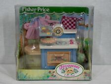 Rare! Discontinued Fisher Price Toys Briarberry Bears Kitchen Set New In Package
