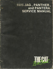 THE CAT 1985 JAG, PANTHER, AND PANTHERA SERVICE MANUAL