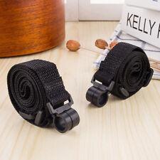 1 pc Black Adjustable Ukulele Guitar Strap String Sling Instrument Hook Music