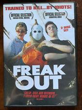 Freak Out DVD 2003 British Horror Movie Comedy Anchor Bay 2-Disc Region 1