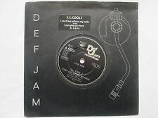 "L.L. Cool J I Can't Live Without My Radio / I Can Give You More UK  7"" Vinyl"