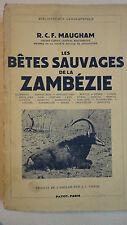 Les Bêtes Sauvages De La Zambézie 1939