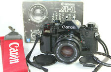 Canon A-1 35mm Classic SLR Film Camera with Canon FD 1:1.8 50mm Prime Lens
