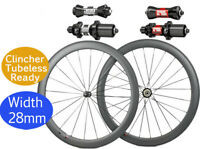 Width 25mm DT 350S 240S carbon road bike wheels tubeless 38mm/50mm wheelset 700C