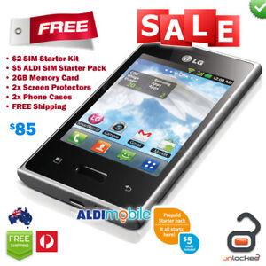 Telstra LG Optimus L3 Next G 3G Android Smartphone Mobile Phone UNLOCKED + BONUS