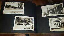 1941 WOOD PHOTO ALBUM w MANY PHOTOS NEW YORK HISTORIC AREAS SARATOGA LAKE GEORGE