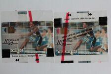 Télécartes à puce Monaco Herculis 90 Athlétisme 50U et 120U NSB (55350)