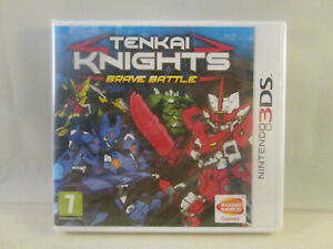 Nintendo 3DS - Tenkai Knights Brave Battles NEW SEALED