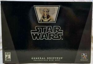 Gentle Giant **STAR WARS GENERAL GRIEVOUS MINI BUST** LE #3921, 3674 & 3623/7000