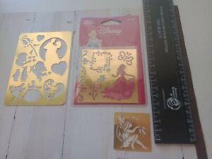 Embossing Stencils Disney Princess/ fairy themed